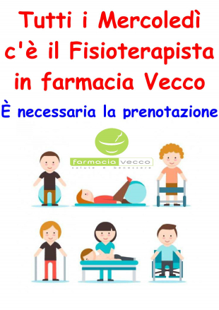 fisioterapista in farmacia