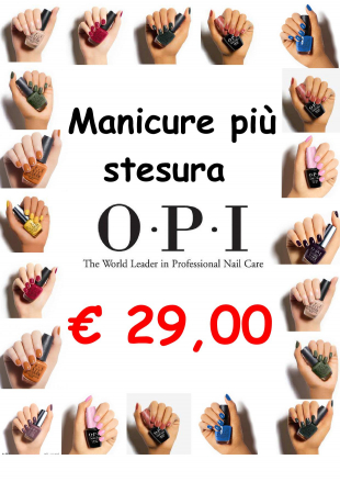 smalto semipermanente gel OPI