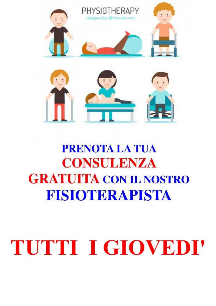 fisioterapista, consulenza gratuita
