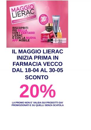 LIERAC, 20% DI SCONTO