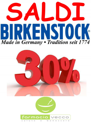 saldi Birkenstock e Gelattto