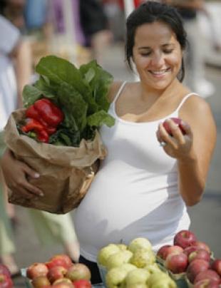 alimentazione in gravidanza