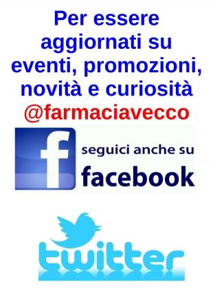 seguiteci sui social