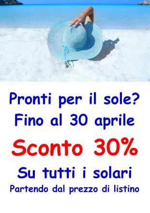 solari sconto 30%